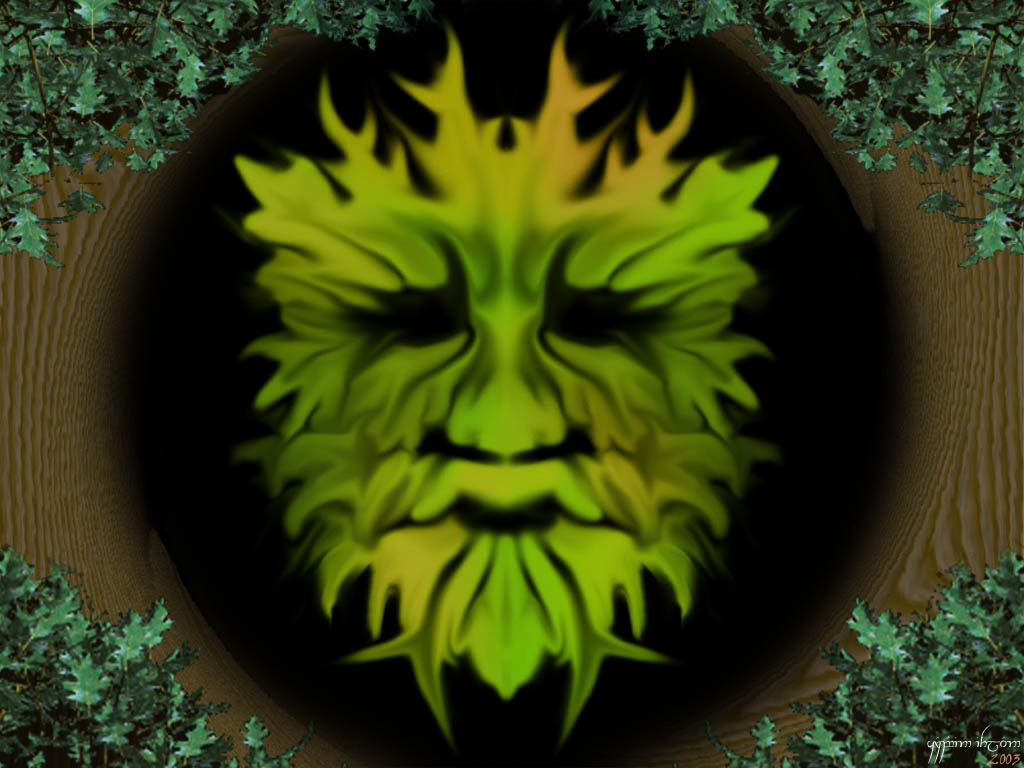 how the Green Man